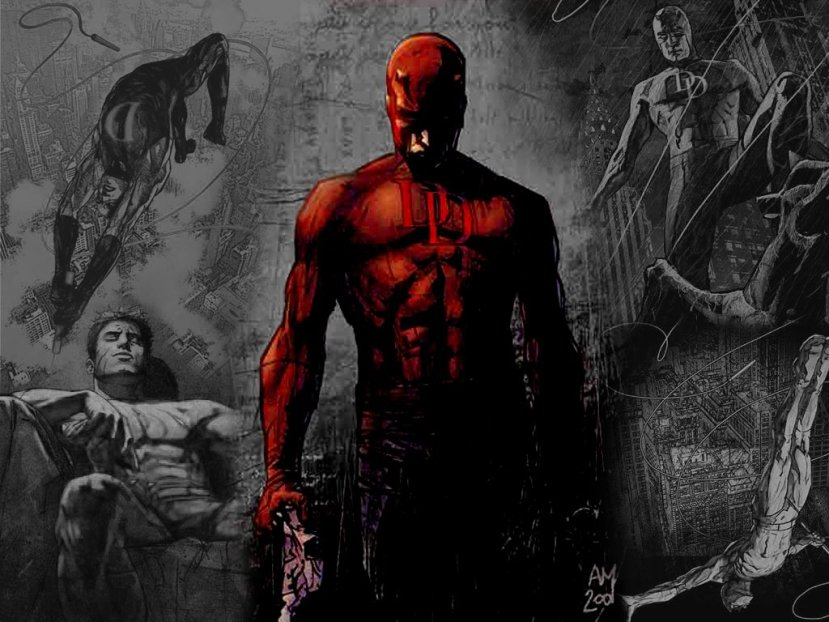 He SAID: DAREDEVIL the Stripped Down Superhero
